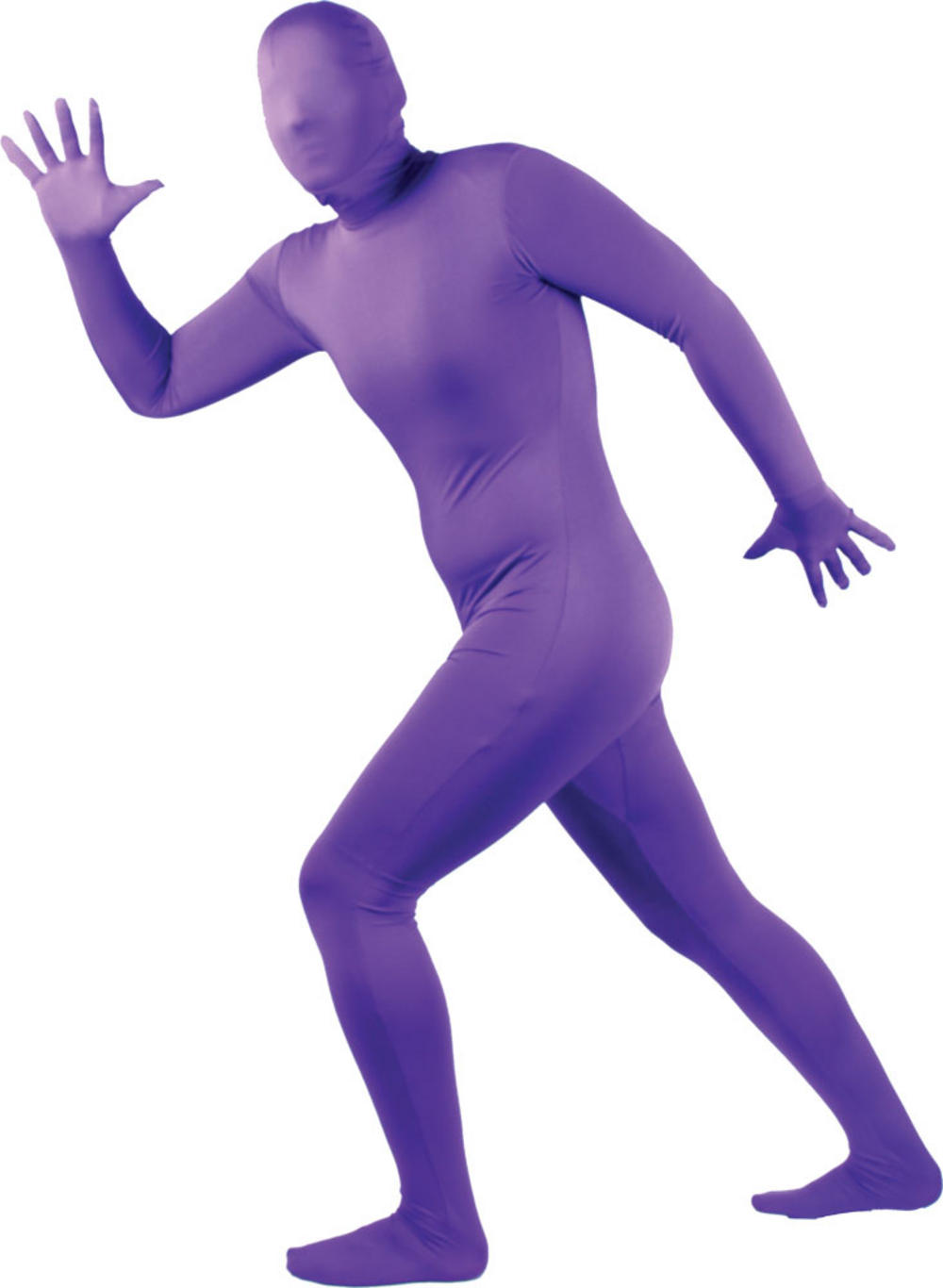 Adult Purple Skinz Bodysuit
