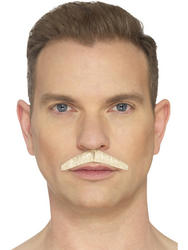 The Pencil Moustache White