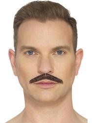 The Pencil Moustache Brown