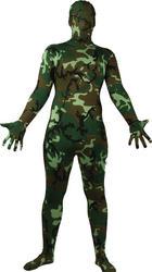 Adult Camouflage Skinz Bodysuit