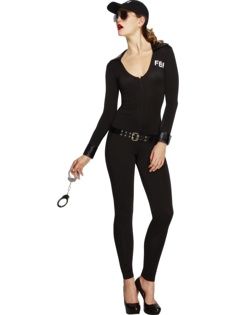 Fever FBI Flirt Ladies Costume