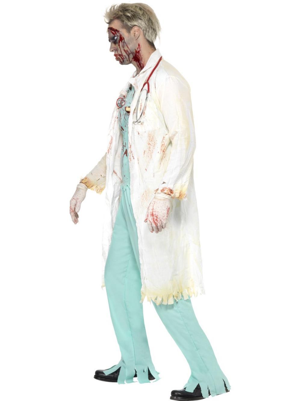 Zombie Doctor Mens Costume All Mens Halloween Costumes Mega