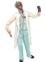Zombie Doctor Mens Costume