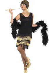 1920s Fringed Flapper Ladies Costume