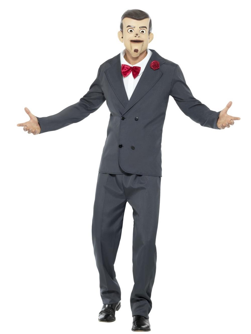59608e36d Goosebumps Slappy the Dummy Mens Costume | All Mens Halloween Costumes |  Mega Fancy Dress