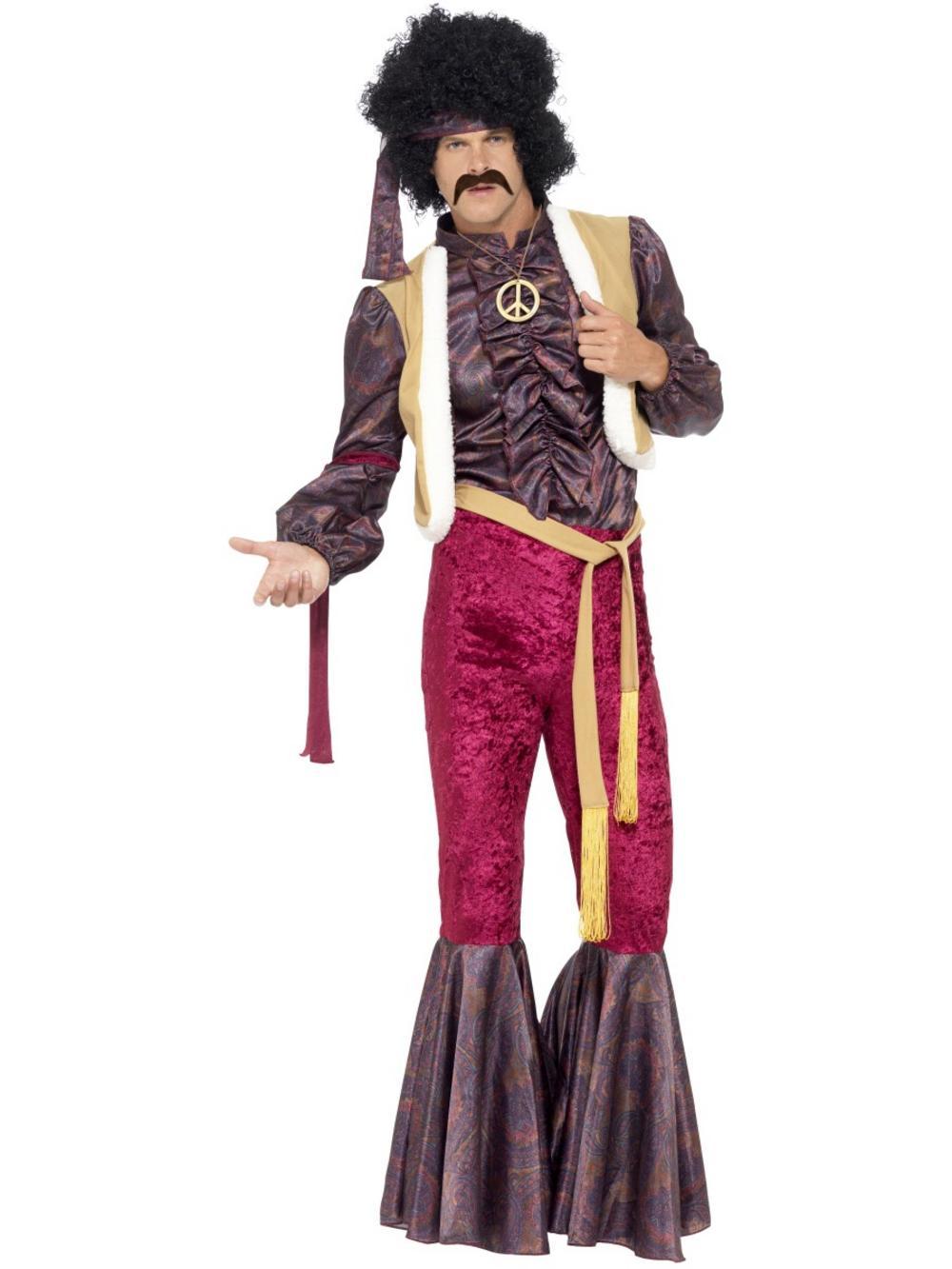 70s Psychedelic Rocker Mens Costume