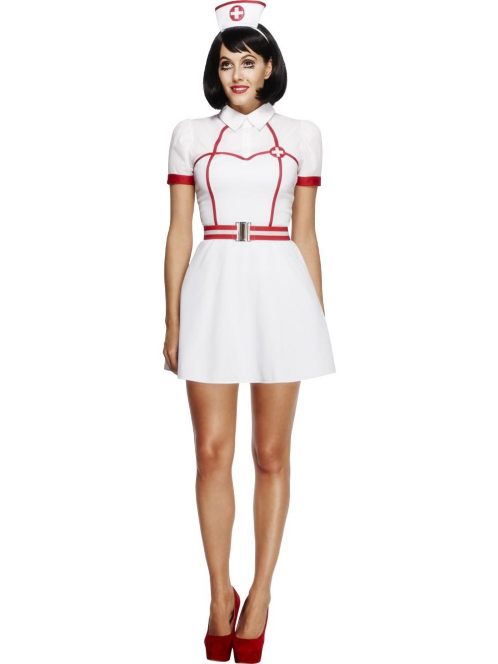 Fever Bed Side Nurse Ladies Costume