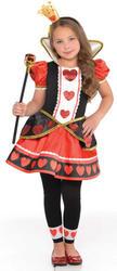 Queen of Hearts Girls Costume
