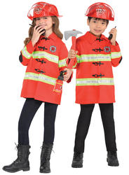 Firefighter Kids Costume Kit