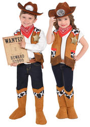 Western Kids Costume Kit
