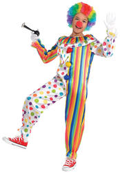 Clown Jumpsuit Boys Costume