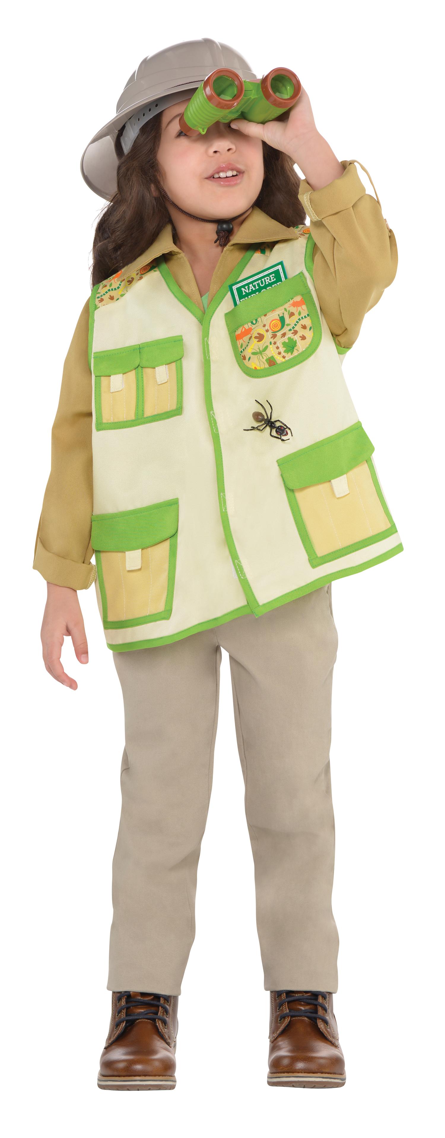 Explorer Kit Kids Fancy Dress Safari Jungle Zoo Keeper Boys Girls Childs Costume | eBay