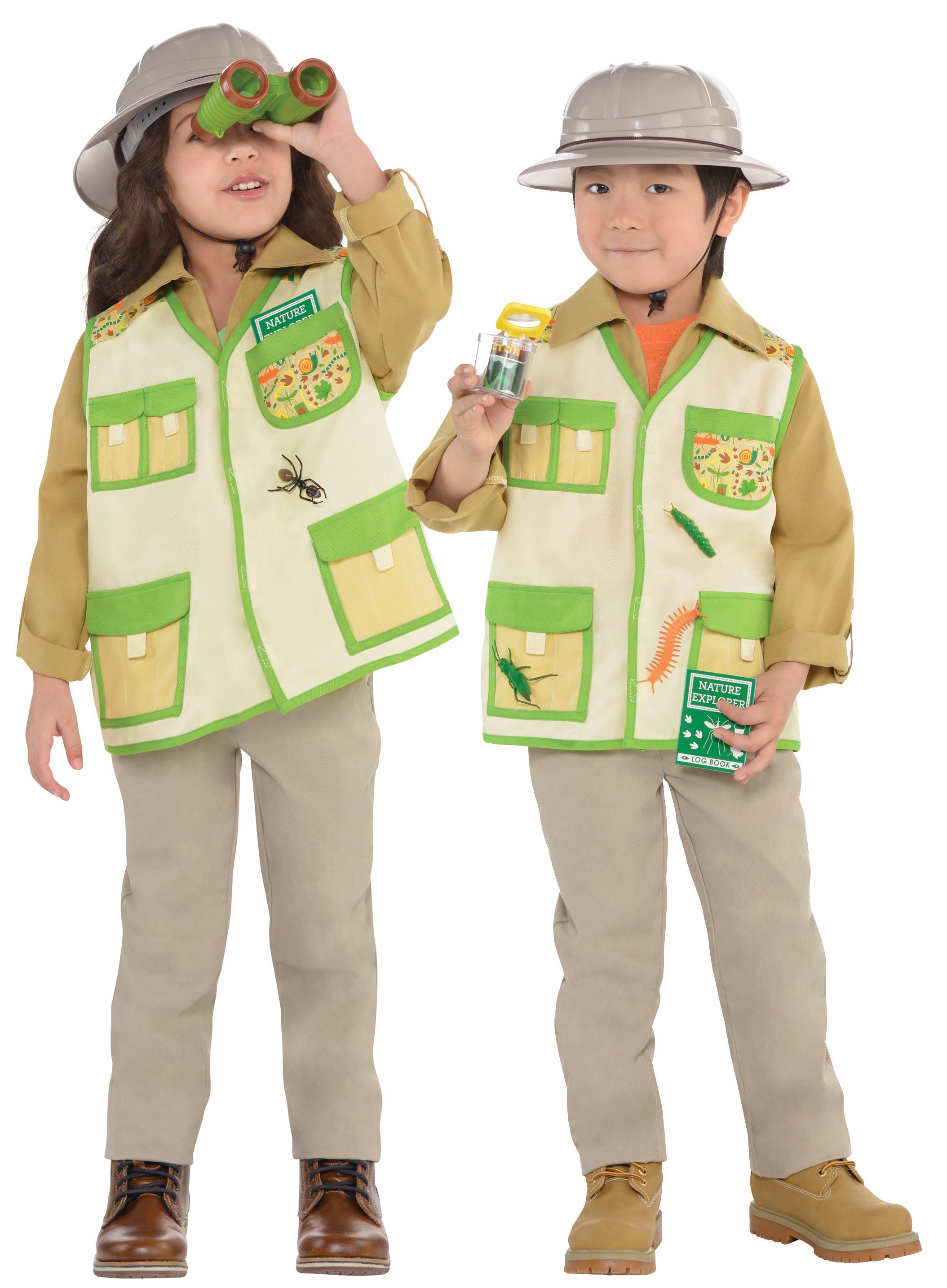 Explorer Kids Costume Kit | Letter u0026quot;Eu0026quot; Costumes | Mega Fancy Dress