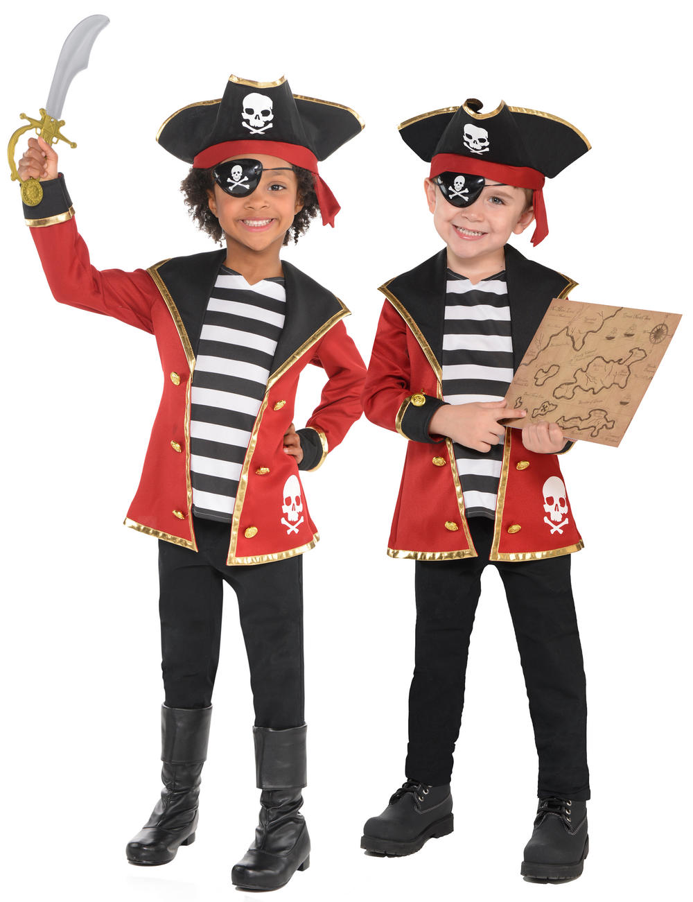 Pirate Kids Costume Kit