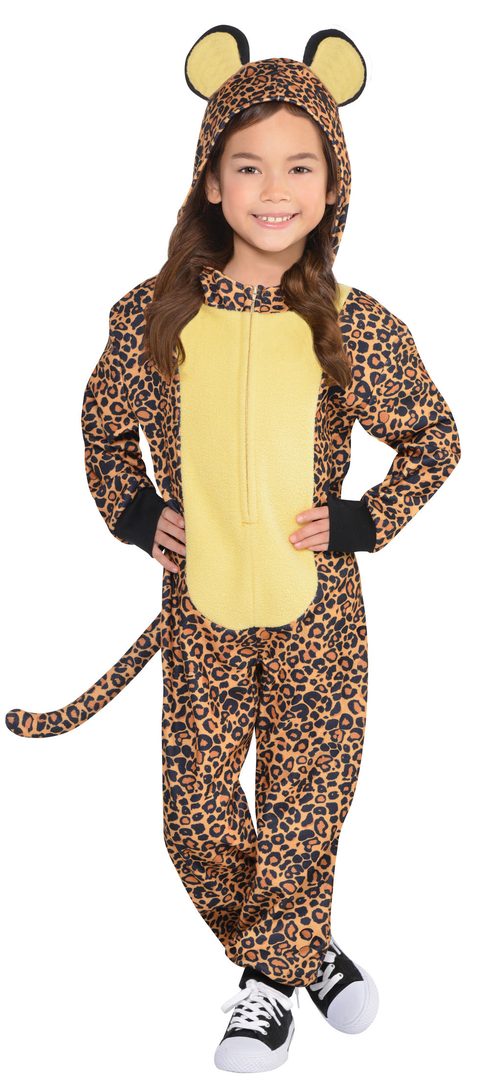 Zipster Leopard Kids Costume Tv Book And Film Costumes