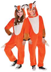 Zipster Foxy Kids Costume