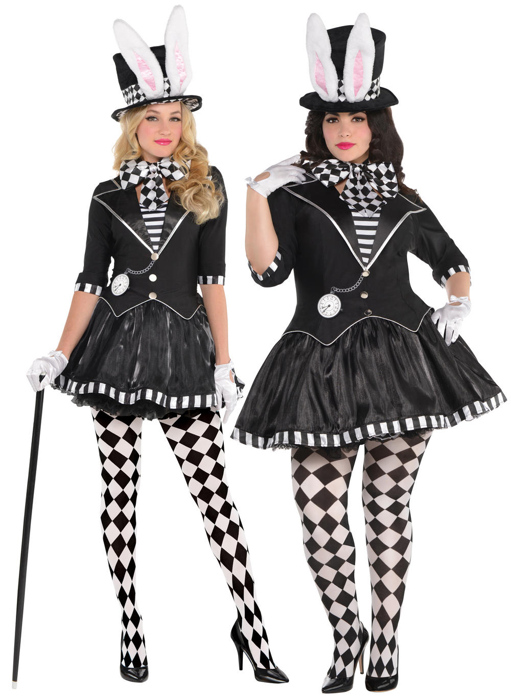 Dark Mad Hatter Ladies Costume