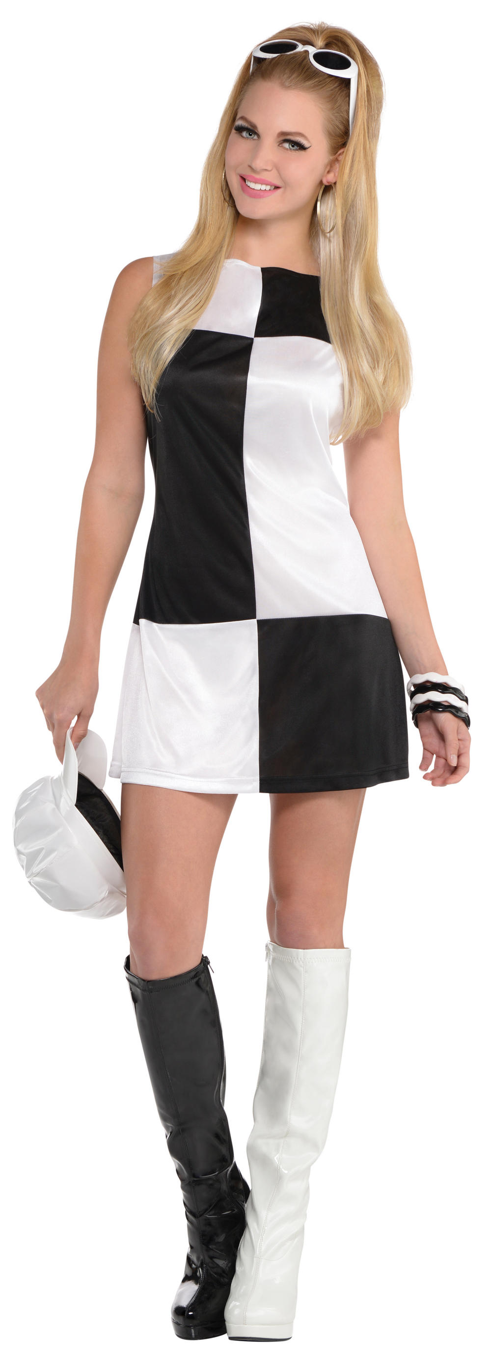 Mod Girl Ladies Costume