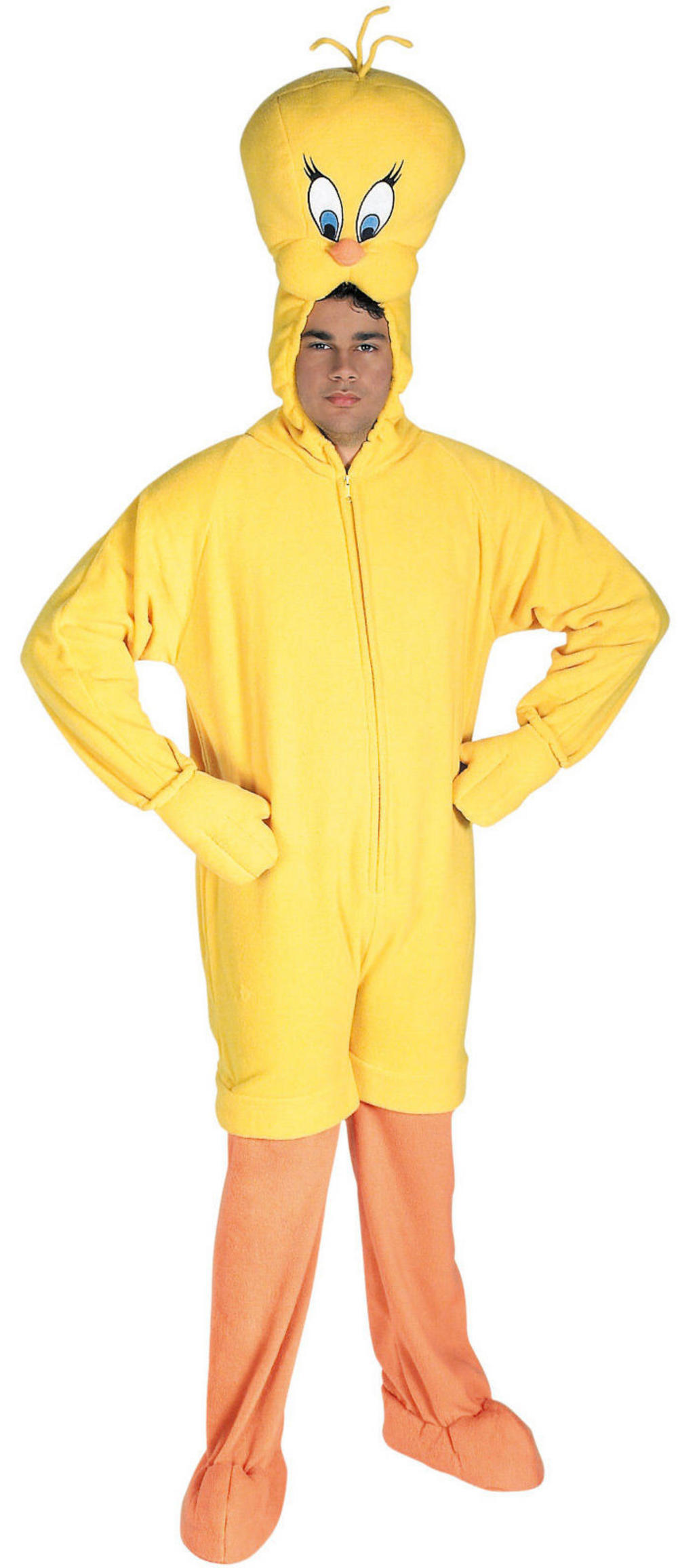 Deluxe Plush Tweety Adults Costume