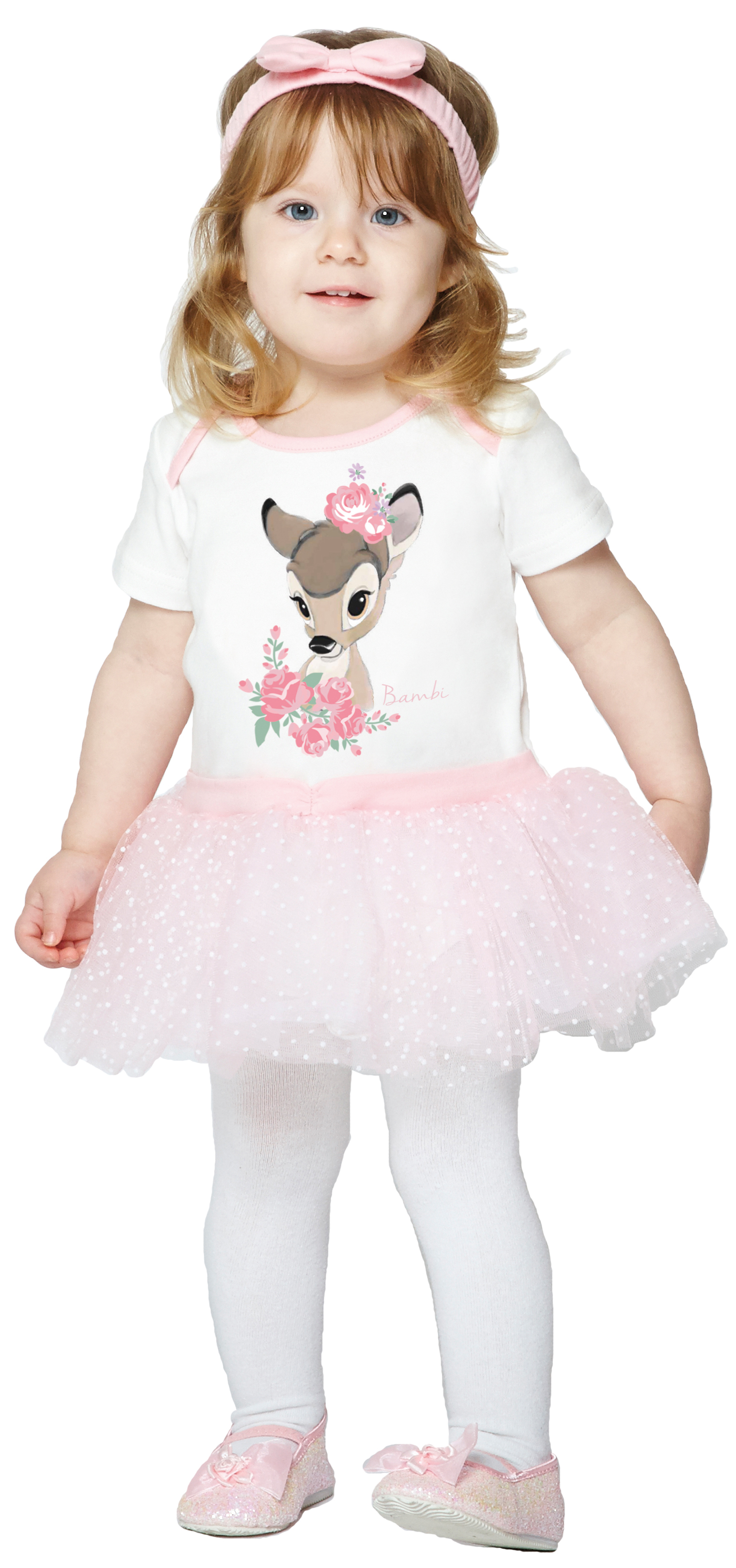 3581596507f Details about Bambi Romper 0-24 Months Fancy Dress Disney Deer Animal  Toddlers Infants Costume