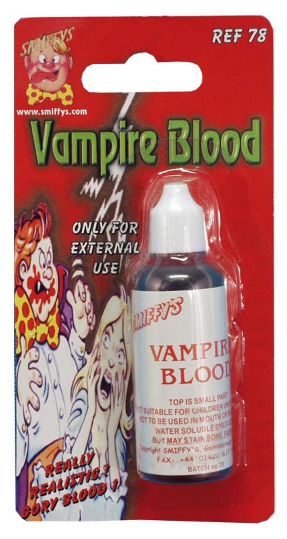 Vampire Blood In a Bottle