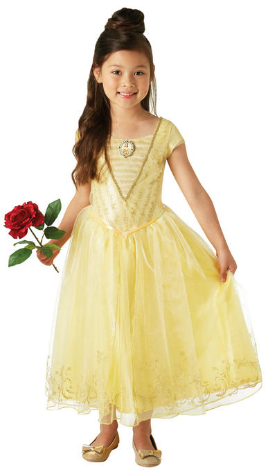 Deluxe Live Action Belle Girls Costume