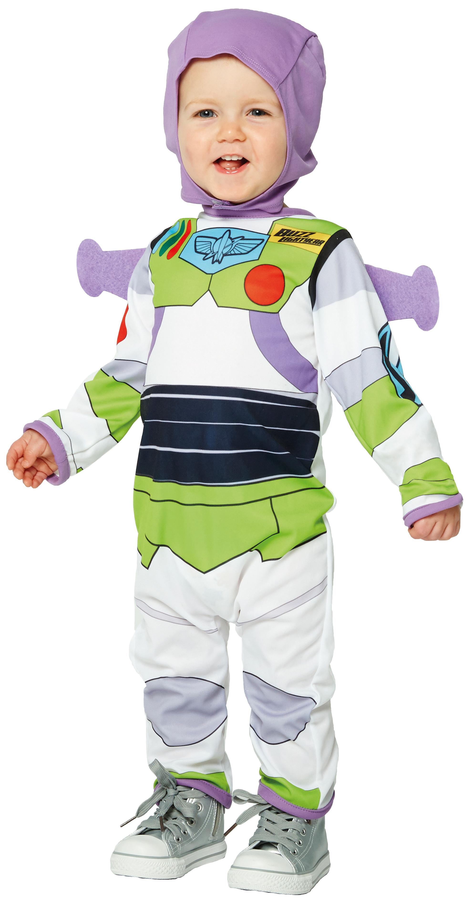 Buzz Lightyear Infants Fancy Dress Disney Toy Story Baby Boys