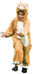 Tabby Cat Kids Costume