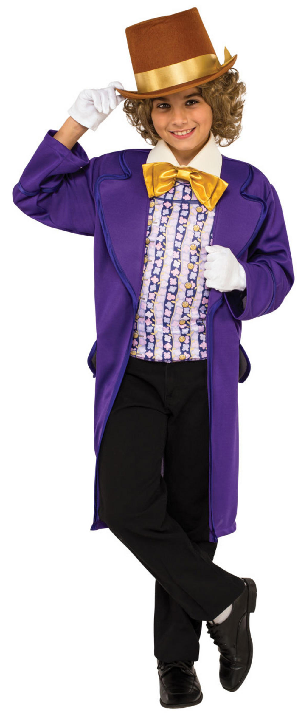 Willy Wonka Boys Costume | TV, Book and Film Costumes | Mega Fancy Dress