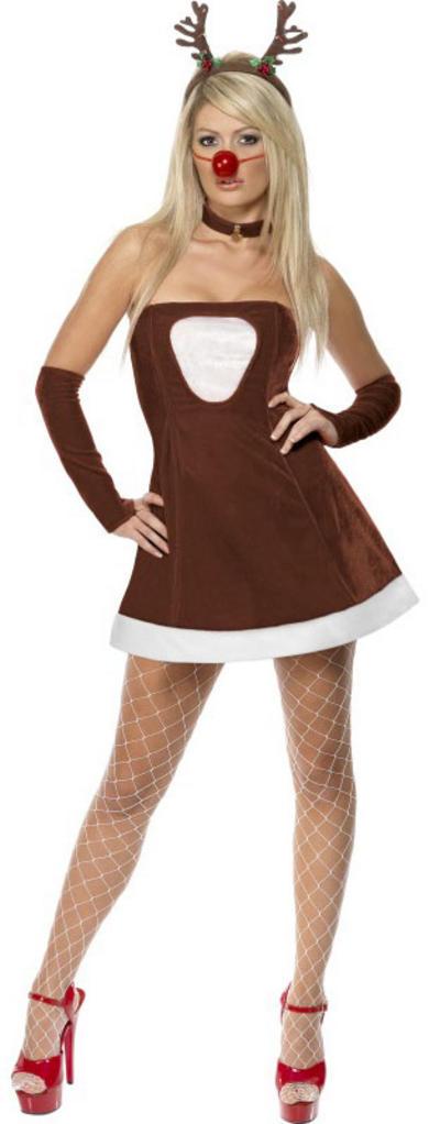 Red Hot Reindeer Costume