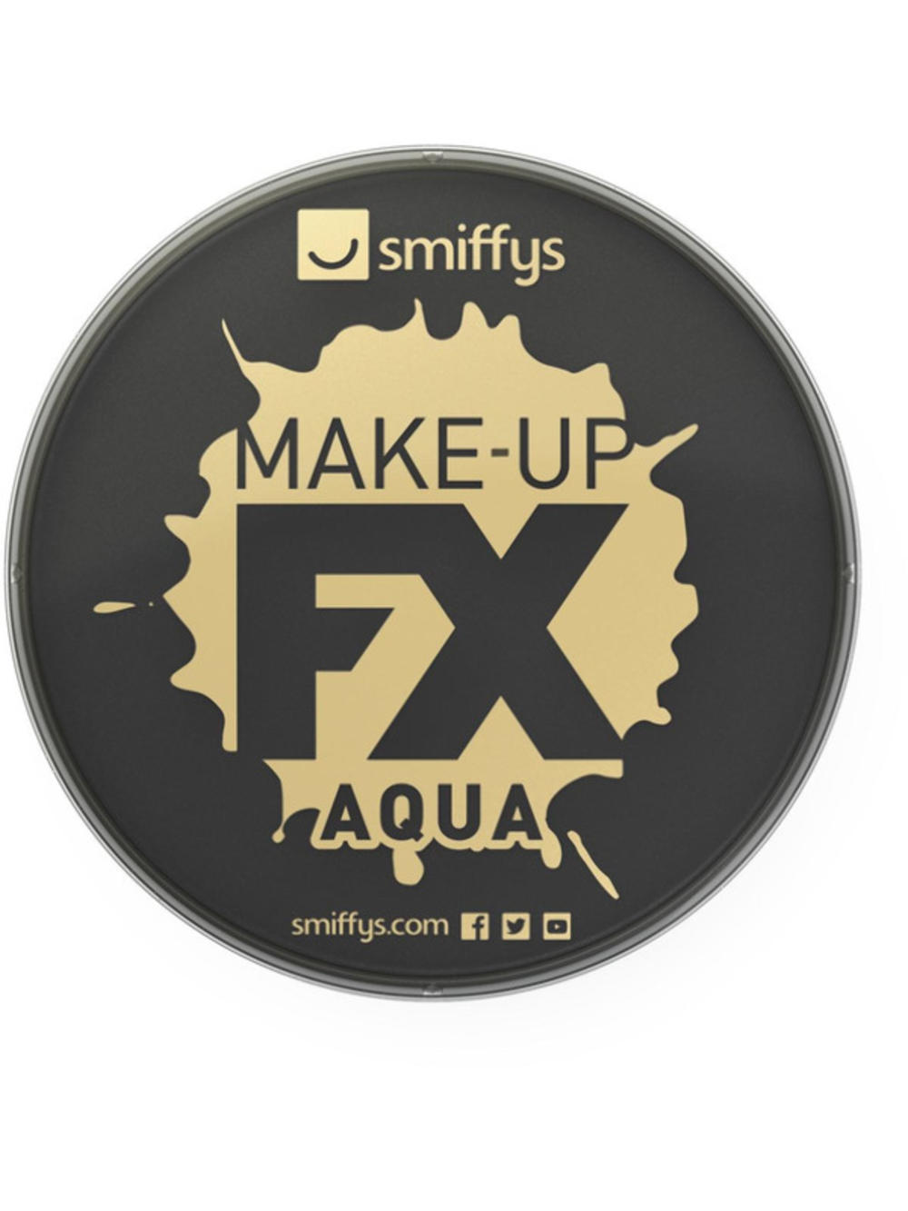 Black Aqua Based Face & Body Paint