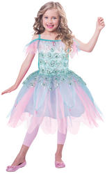Aqua Fairy Girls Costume