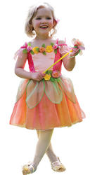 Peach Melba Fairy Girls Costume