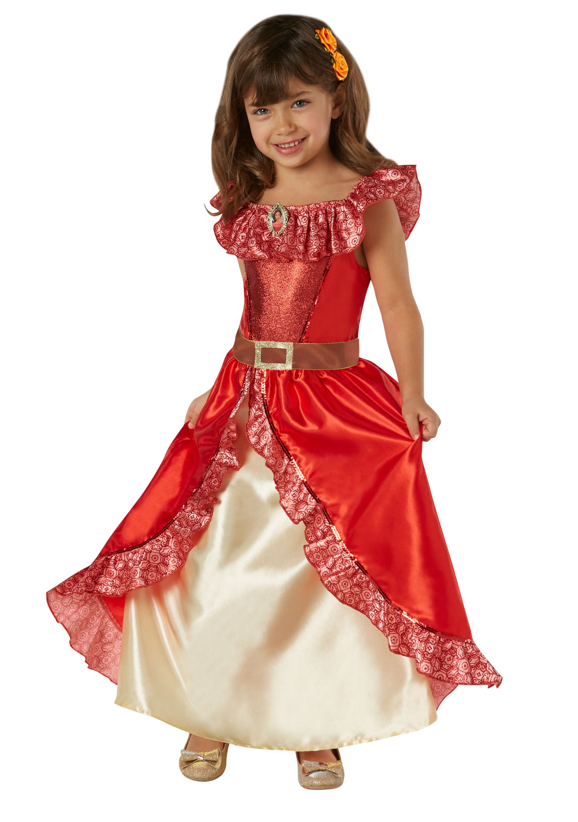 Deluxe Elena Avalor Girl World Book Day Fancy Dress