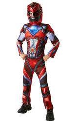 Deluxe Red Boys Power Ranger Costume