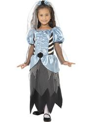 Girls' Gothic Bride Costume