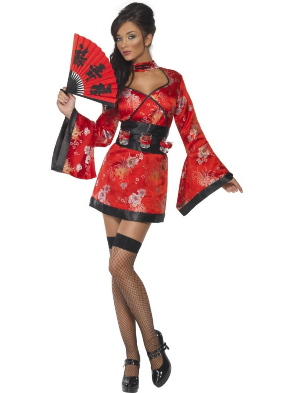 Fever Vodka Geisha Girl Costume  sc 1 st  Mega Fancy Dress & Fever Vodka Geisha Girl Costume | All Ladies Costumes | Mega Fancy Dress