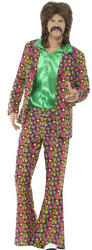 60's Psychedelic CND Suit Mens Costume