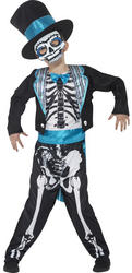 Day of the Dead Groom Boys Costume