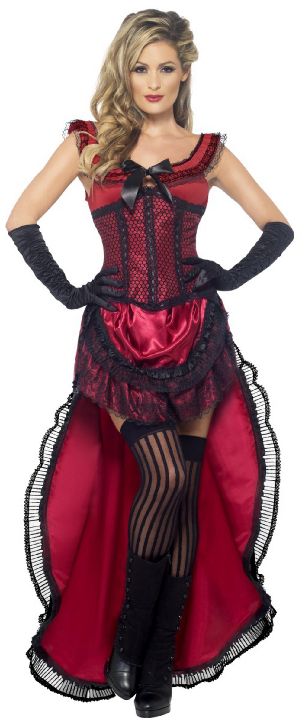 Western Authentic Brothel Babe Ladies Costume