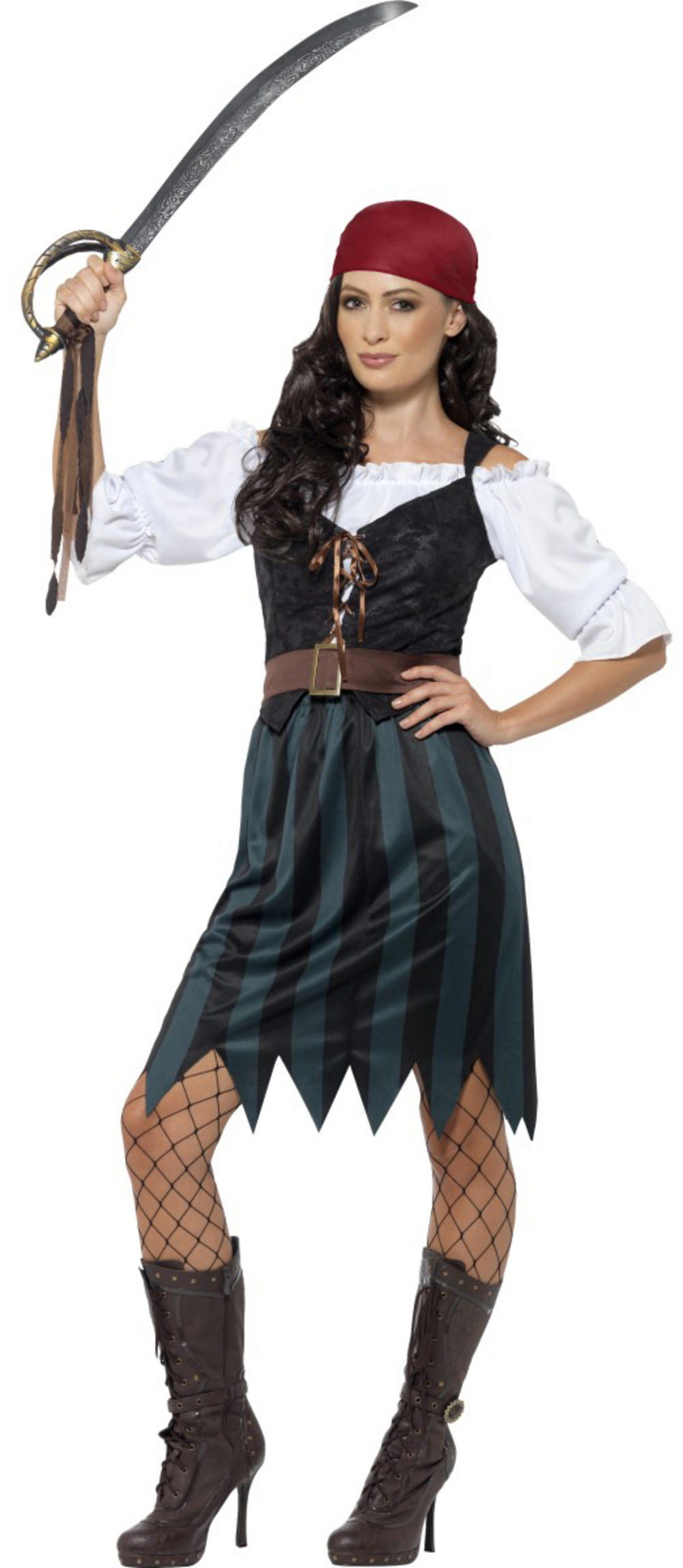 Pirate Deckhand Ladies Costume