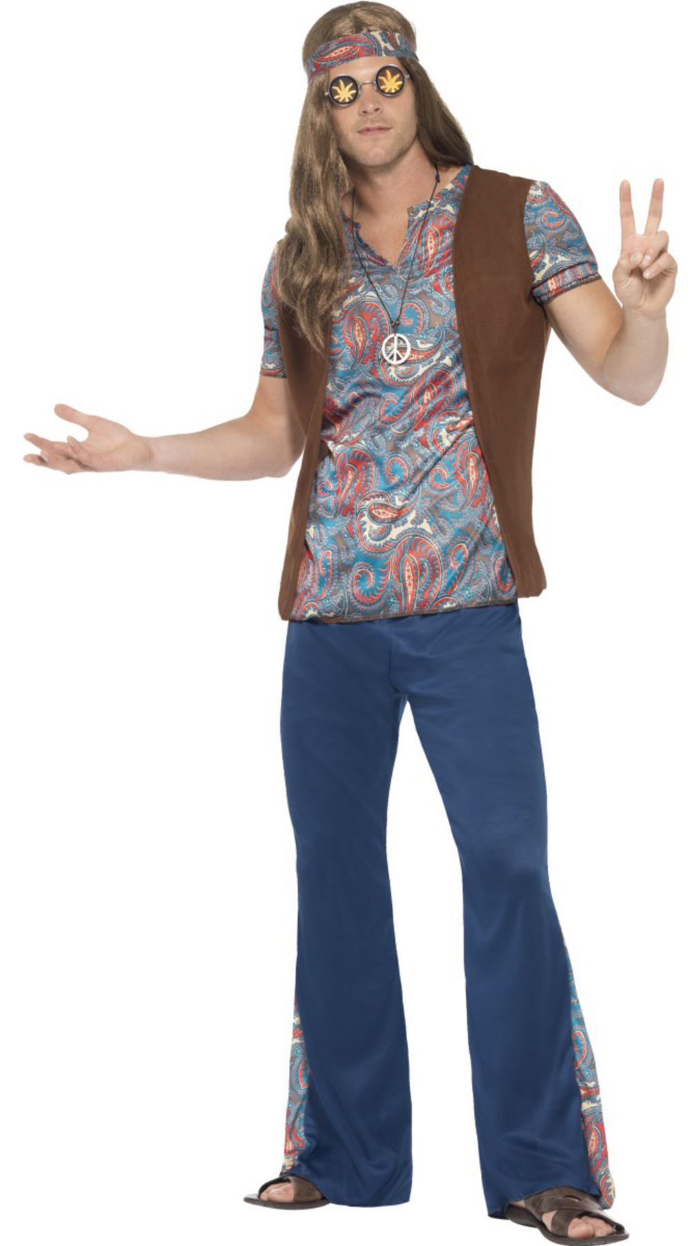Orion the Hippie Mens Costume