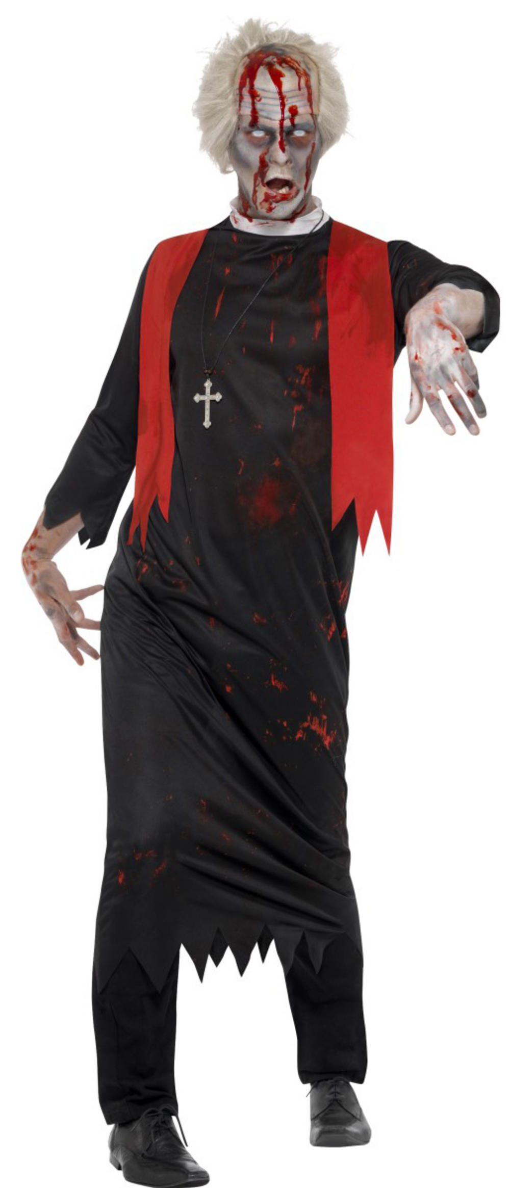 Zombie High Priest Mens Costume