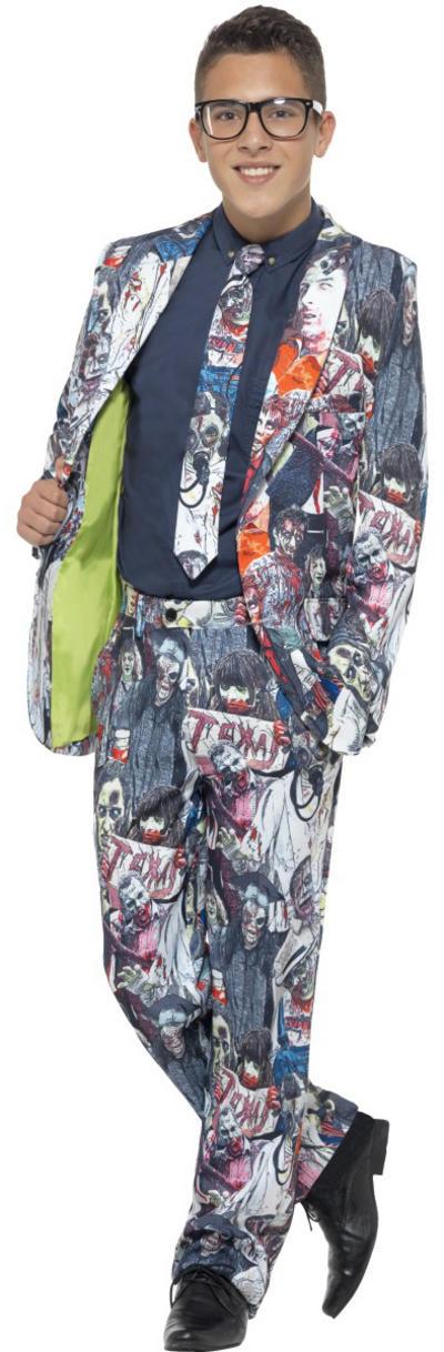 Zombie Suit Teens Costume