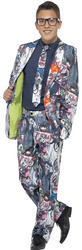 Zombie Suit Teens Costume