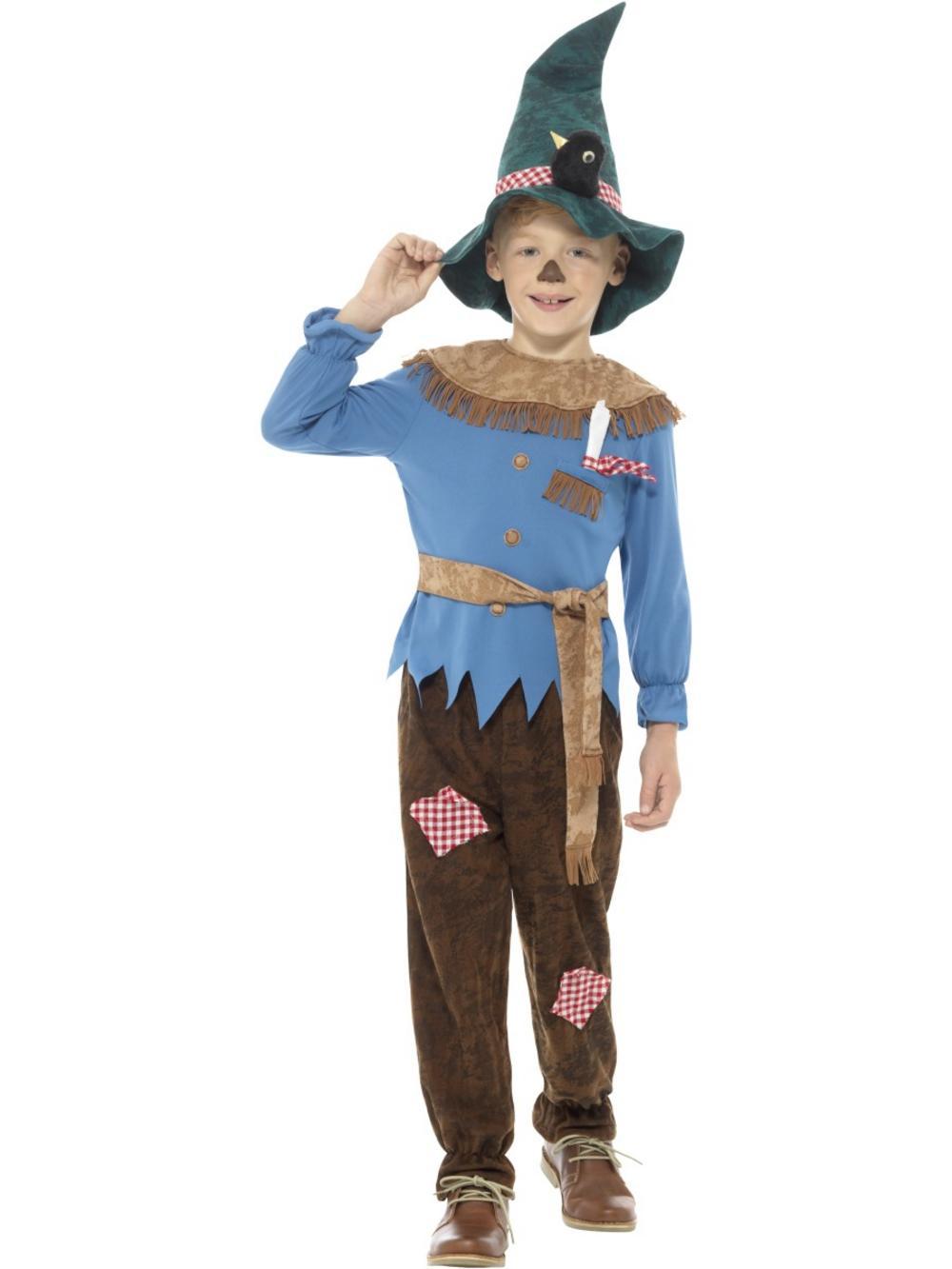 Patchwork Scarecrow Costume