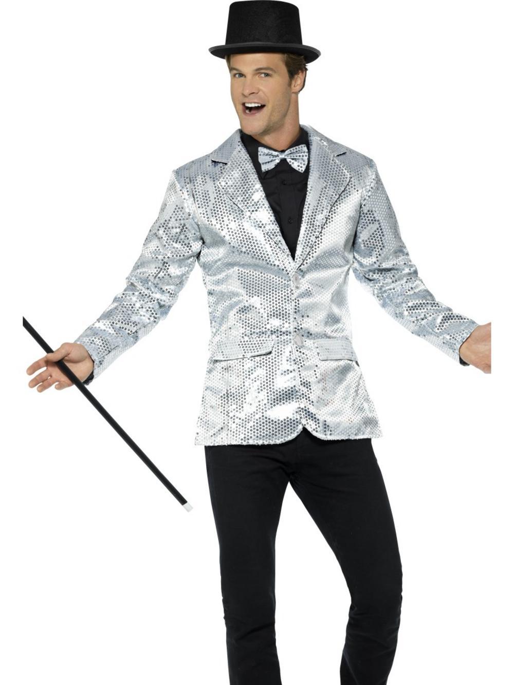 Sequin Jacket Mens Costume
