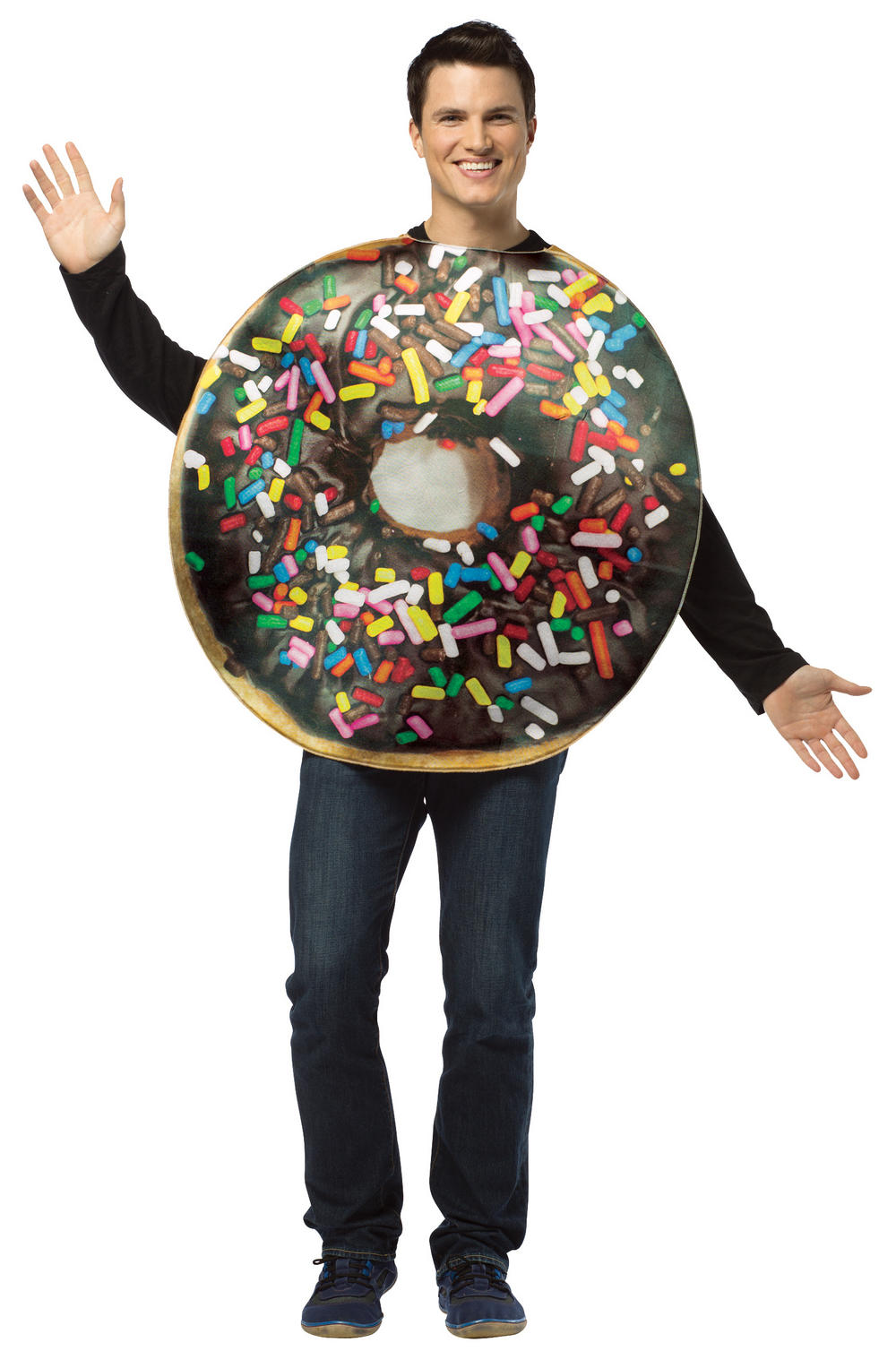 Get Real Doughnut Adults Costume