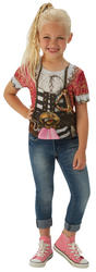 Pirate Girl T-Shirt Kids Costume