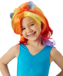 Rainbow Dash Kids Wig